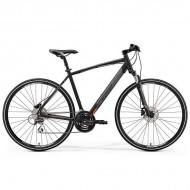 "Bicicleta MERIDA 2019 Crossway 20-D 28"" negru/portocaliu M/L (52 cm)"