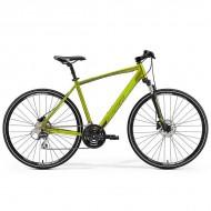 "Bicicleta MERIDA 2019 Crossway 20-D 28"" verde olive S/M (48 cm)"