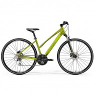 "Bicicleta MERIDA 2019 Crossway 20-D Lady 28"" verde olive M (50L cm)"