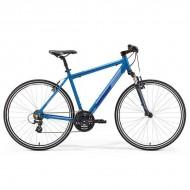 """Bicicleta MERIDA Crossway 10-V 28"""" albastru L (55 cm)"""