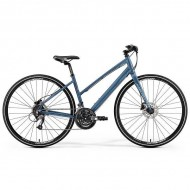 "Bicicleta MERIDA Crossway Urban 40 Lady 28"" albastru/rosu S (46L cm)"