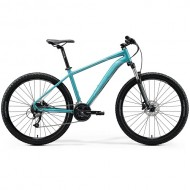 "Bicicleta MERIDA BIG.SEVEN 40 27.5"" albastru/argintiu 20 XS (13.5"")"