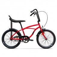 "Bicicleta PEGAS Strada Mini single-speed 20"" roşu"