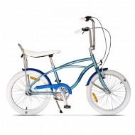 "Bicicleta PEGAS Strada Mini 3 viteze 20"" albastru arctic"