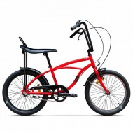 """Bicicleta PEGAS Strada Mini 3 viteze 20"""" roşu"""