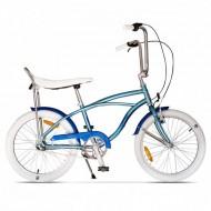 "Bicicleta PEGAS Strada Mini 7 viteze 20"" albastru arctic"