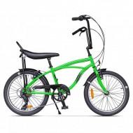 """Bicicleta PEGAS Strada Mini 7 viteze 20"""" verde"""