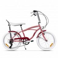 "Bicicleta PEGAS Strada Mini 7 viteze 20"" roz"