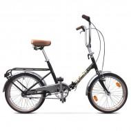 """Bicicleta pliabilă PEGAS Practic Retro 3S 20"""" 42 cm alb"""