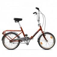 """Bicicleta pliabilă PEGAS Practic Retro 3S 20"""" 42 cm portocaliu"""