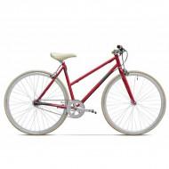 "Bicicleta PEGAS Clasic F Lady 28"" roşu mat 45 cm"