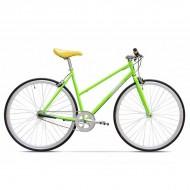 "Bicicleta PEGAS Clasic F Lady 28"" verde neon 45 cm"