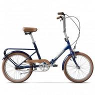"""Bicicleta pliabilă PEGAS Practic 3S 20"""" 42 cm albastru"""