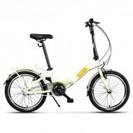 """Bicicleta pliabilă PEGAS Camping 3S 20"""" verde fistic"""