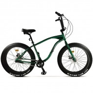 "Bicicleta Fat Bike PEGAS Cutezator Evolution 26"" verde 43 cm"