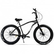 """Bicicleta Fat Bike PEGAS Cutezator EV 26"""" negru 43 cm"""
