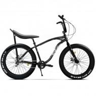 "Bicicleta Fat Bike PEGAS Cutezator EV Banana 26"" negru 43 cm"