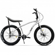 "Bicicleta Fat Bike PEGAS Cutezator EV Banana 26"" alb 43 cm"