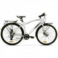 "Bicicleta PEGAS Hoinar 28"" alb 48 cm"