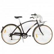 "Bicicleta PEGAS Popular aluminiu 28"" negru 48 cm"