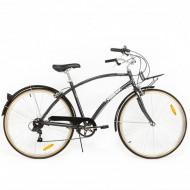 "Bicicleta PEGAS Popular aluminiu 28"" gri 48 cm"