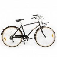 """Bicicleta PEGAS Popular 28"""" negru 48 cm"""