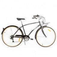 "Bicicleta PEGAS Popular 28"" gri 48 cm"