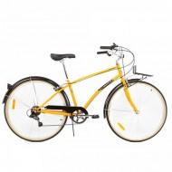 """Bicicleta PEGAS Popular Lady 28"""" portocaliu 41 cm"""