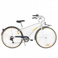 "Bicicleta PEGAS Popular Lady 28"" alb 41 cm"