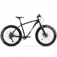 "Bicicleta Fat Bike PEGAS Suprem FX 26"" negru 43 cm"