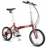 """Bicicleta pliabilă PEGAS Teoretic 7S 16"""" portocaliu cupru"""