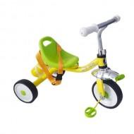 Tricicletă RICHBABY - galben/verde