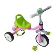 Tricicletă RICHBABY - roz/verde