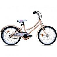 """Bicicleta ROBIKE Alice 20"""" crem 23 cm"""
