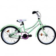 "Bicicleta ROBIKE Alice 20"" turquoise/mov/alb 23 cm"