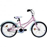 "Bicicleta ROBIKE Alice 20"" roz/albastru/alb 23 cm"