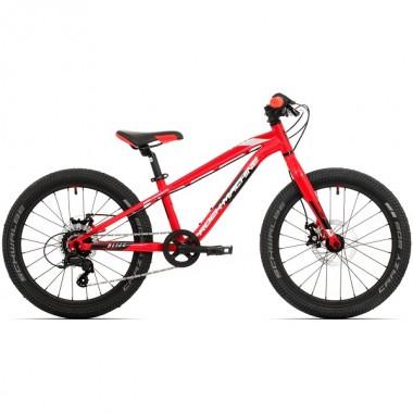 """Bicicleta ROCK MACHINE Blizz 20 MD 2021 20"""" rosu/negru/alb"""