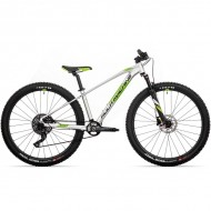 "Bicicleta ROCK MACHINE Blizz HD LTD 2021 27.5"" argintiu/verde DVO/negru XS-13.5"""