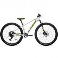 """Bicicleta ROCK MACHINE Blizz HD LTD 2021 27.5"""" argintiu/verde DVO/negru XS-13.5"""""""