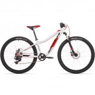 """Bicicleta ROCK MACHINE Storm 27 MD 2021 27.5"""" argintiu/rosu/negru S-15"""""""