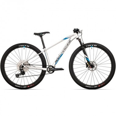 "Bicicleta ROCK MACHINE Thunder HD LTD 2021 29"" argintiu/albastru/negru S-15"""