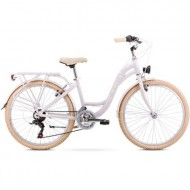 """Bicicleta ROMET Panda S/13"""" alb"""