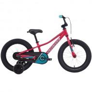 """Bicicleta SPECIALIZED Riprock Coaster 16"""" Rainbow Flake Pink/ Turquoise/Light Turquoise 7"""