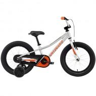 "Bicicleta SPECIALIZED Riprock Coaster 16"" Silver/Moto Orange/Black Reflective 7"