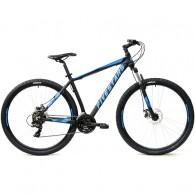 """Bicicleta FIVESTARS 2019 Rebel MDB 29"""" negru/albastru 43 cm"""