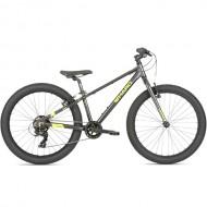 """Bicicleta HARO 2019 Flightline 24"""" Plus negru/neon 30.5 cm"""