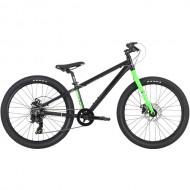"Bicicleta HARO 2019 Beasley 24"" negru/verde 30 cm"