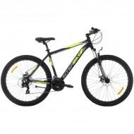 "Bicicleta SPRINT Interbike Gepard 29"" negru/verde 48 cm"