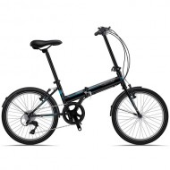 "Bicicleta pliabila SPRINT Traffic 20"" negru/albastru"