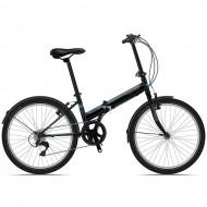 "Bicicleta pliabila SPRINT Traffic 24"" negru/albastru"